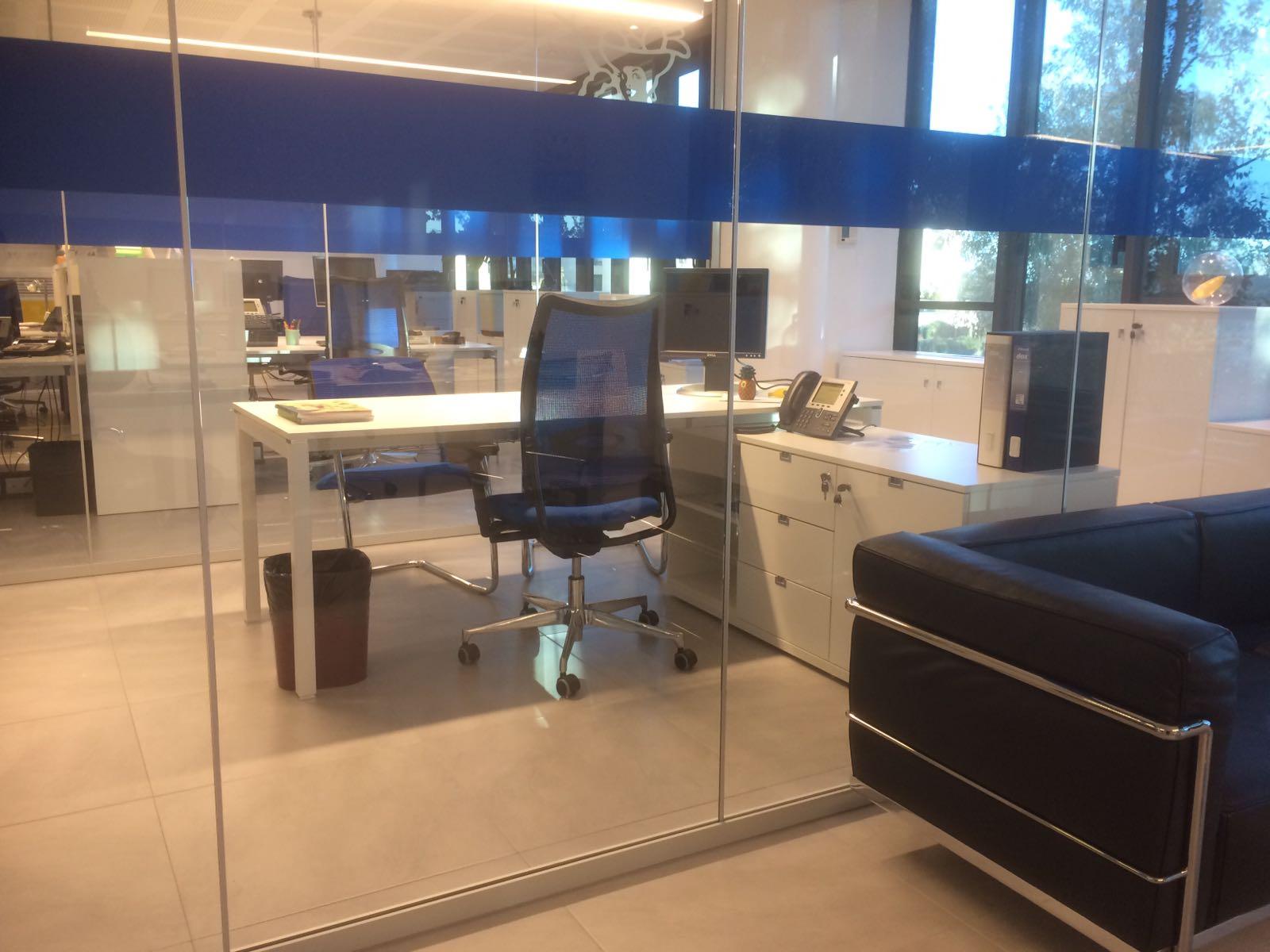 Progetto arredo open space roma chiquita sistema ufficio