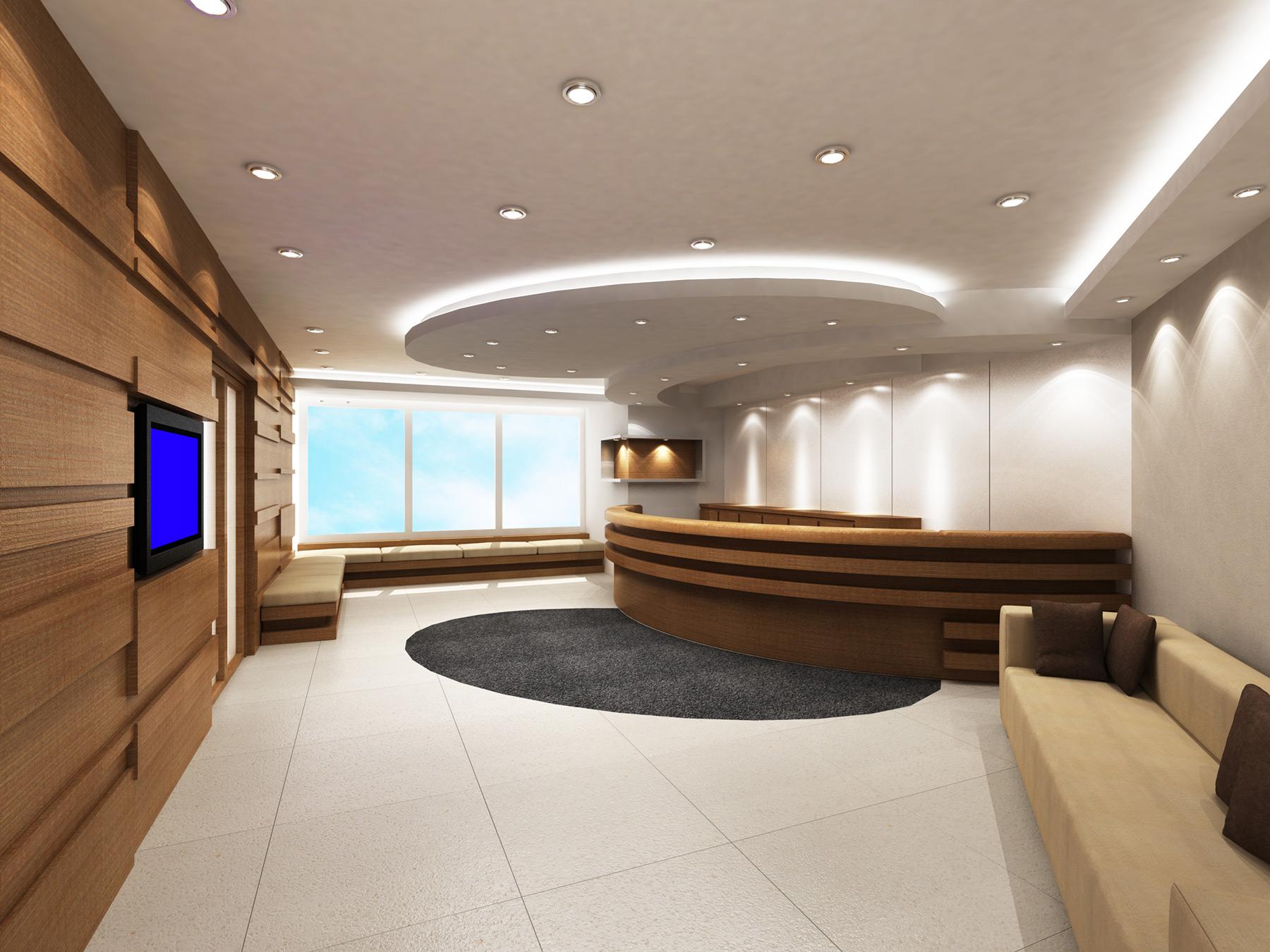 In Sala D Attesa.Arredamento Ufficio Roma La Sala D Attesa Sistema Ufficio