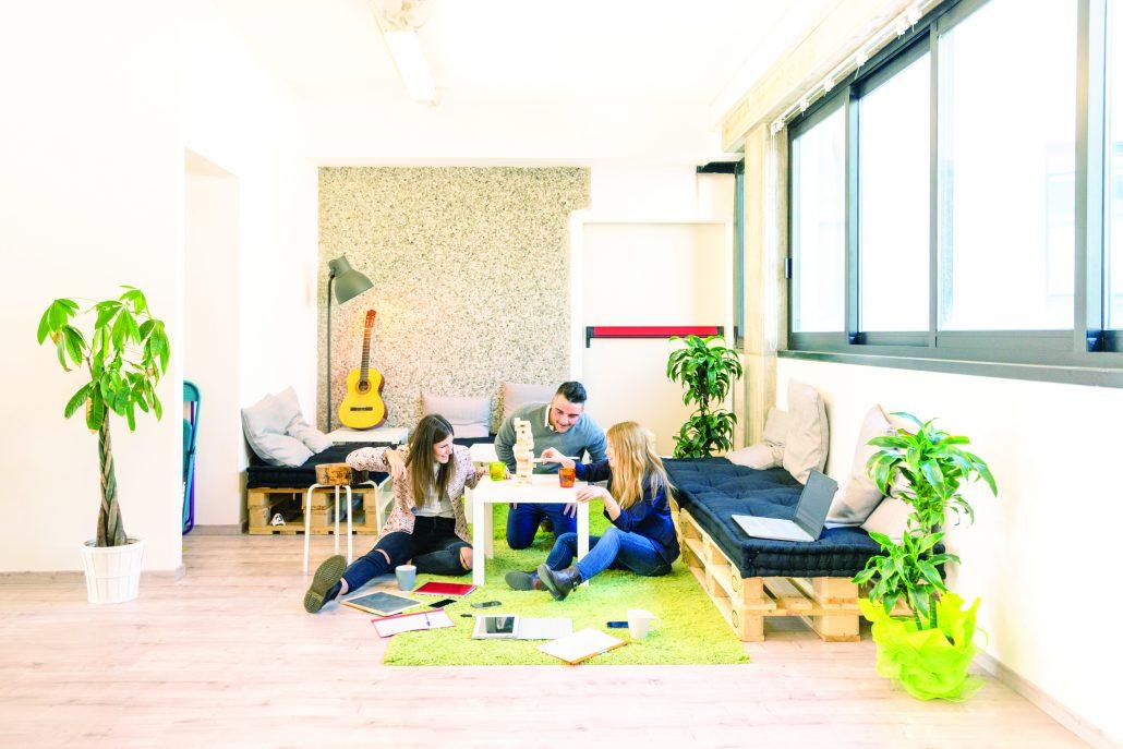 Come organizzare la zona relax dell'ufficio