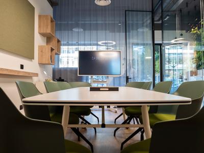 Sala riunioni di Sistema Ufficio Srl